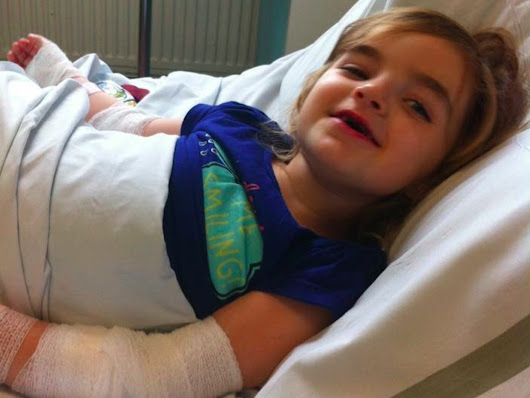 Parents say 'poor first aid' at school changed their daughter's life