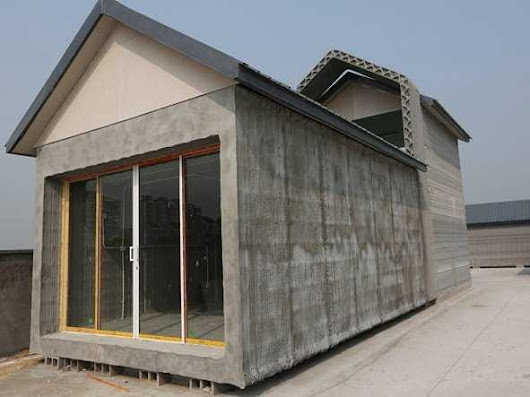 A Chinese Company 3D-Printed 10 Houses In A Day
