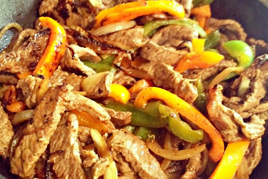 Spicy Fajitas (Bowl or Tortilla) - Discover with Andy & Becki