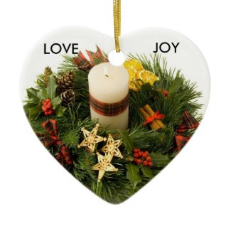 Advent Wreath Ornament ornament