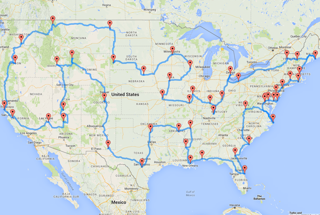 United States Road Map - Printable us road map