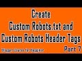 How to Create Robots.txt in Blogger for Better SEO