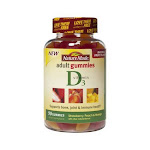 Nature Made Vitamin D Adult Gummies Supports Bone, Joint And Immune Health - 90 Ea