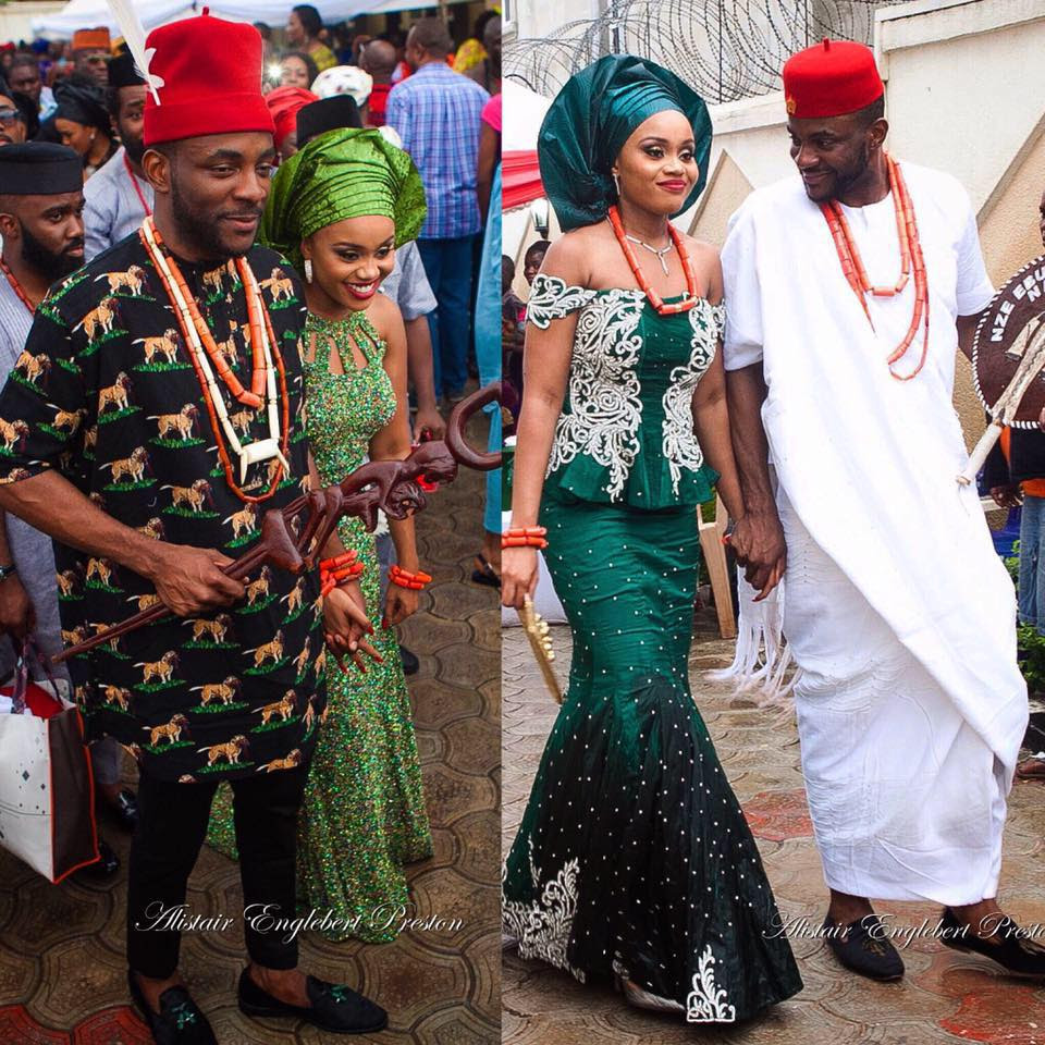 Ebuka Obi-Uchendu and Cynthia Obianodo Traditional Wedding
