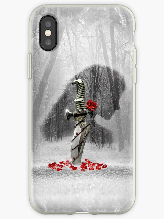 """Beauty and the Blade"" iPhone Cases & Covers by Miriam Ciraolo 