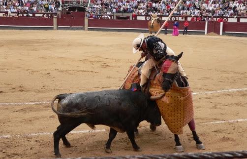 Cuando pican al toro