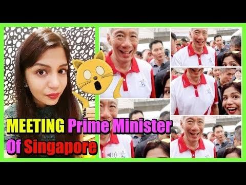 Meeting The Prime Minister Of Singapore   Superprincessjo