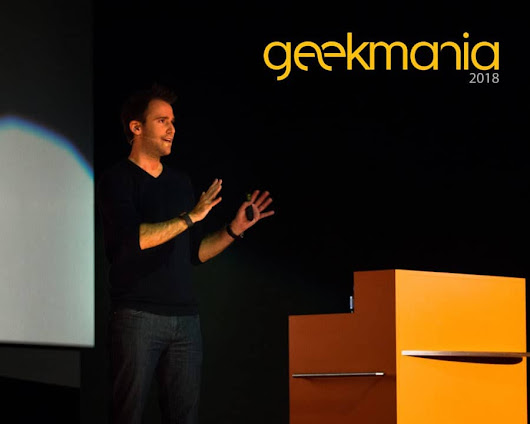 Speaking at Geekmania 2018 - Thomas Maurer