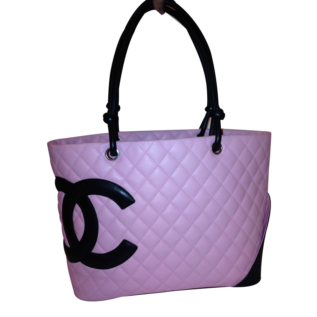 6128fcb8d3 Over 1000 Authentic Chanel Pink Cambon Large Leather Tote Bag