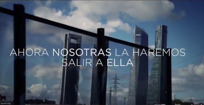 Una de las escenas del vídeo que anuncia la campaña de Podemos contra la 'trama'.