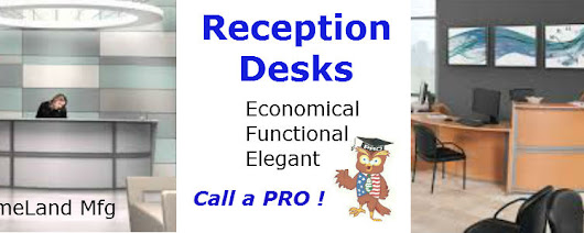 Reception Desks, In Stock
