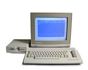 Commodore 64C with 1541-II floppy disk drive a...