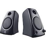 Logitech Z-130 Computer Speakers - Pair
