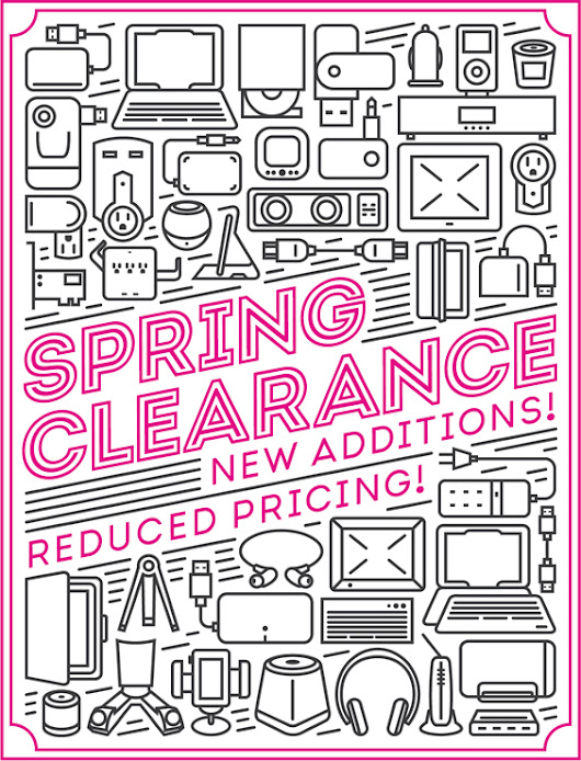 Spring Clearance Closeout