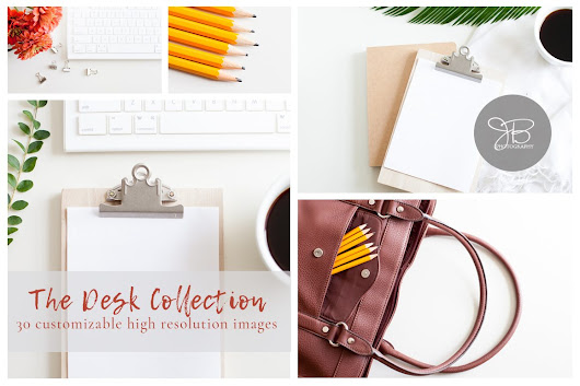 THE DESK COLLECTION | Styled Stock Photo Bundle - Jesseca Bellemare Photography