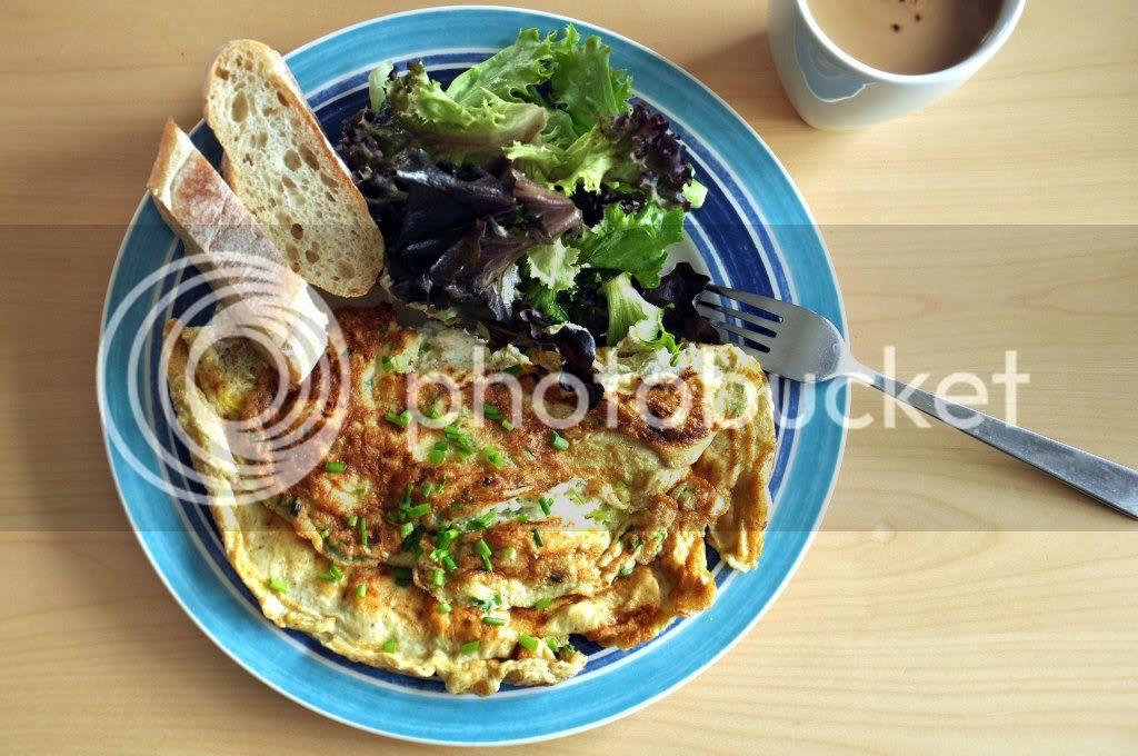 omelettechivesricotta