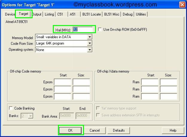 Keil tutorial for programming a microcontroller 5