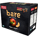 Bare Apple Chips, Fuji Red and Cinnamon - 7 count, 3.7 oz box