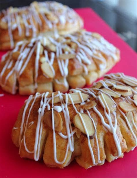 Almond Bear Claws Oh yum family favorite gotta make these