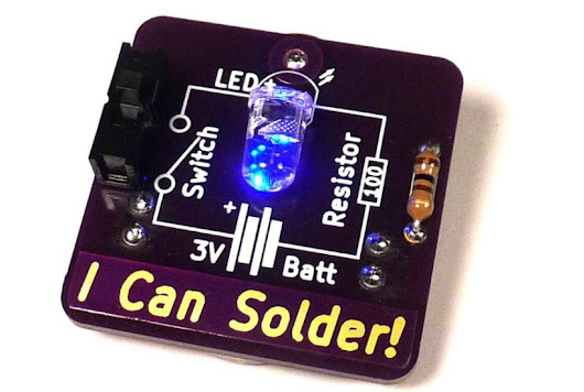 Say it Loud and Proud With The I Can Solder Badge - Tindie Blog