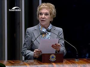Marta Suplicy (Foto: Reprodução/TV Senado)