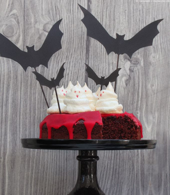 Halloween Cake, Last Minute Idea, Halloweenidee, Halloweenparty