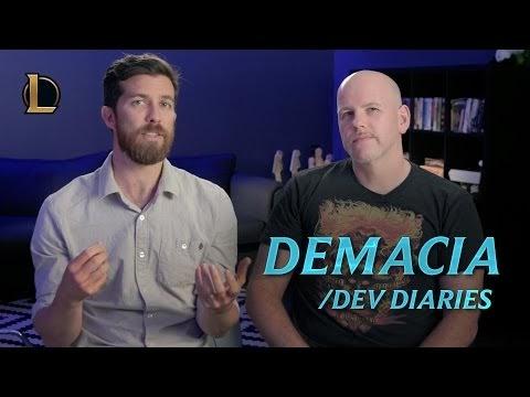 #Gaming #Gamer #Game Reintroducing Demacia | /dev diary - League of Legends ─ League of Legends