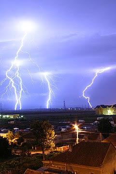 Lightning over Oradea Romania 2