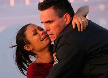 Thandie Newton and Matt Dillon in 'Crash'.
