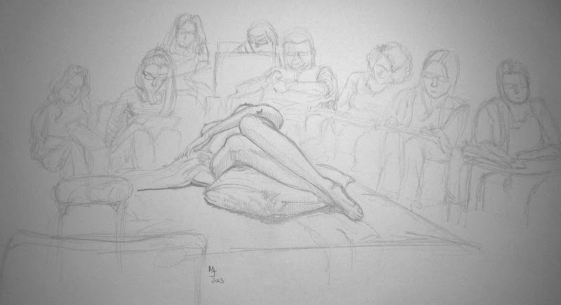 Sandy Hill Life Drawing Workshop | Lilly