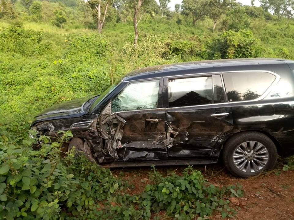 Former NAFDAC DG, Paul Orhii, Survives Accident After Attending Wedding (Photos)