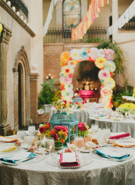 Colorful Mexican Fiesta Wedding   Cinco de Mayo   Mexican