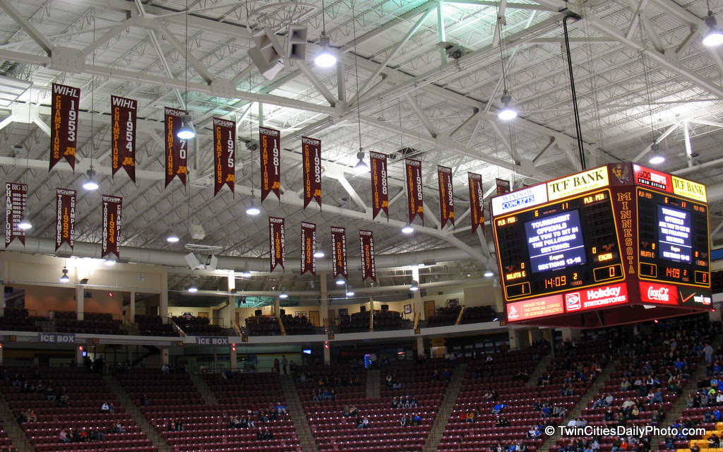 It's hard to believe Mariucci Arena opened in 1993 and I had never stepped foot inside of the building until 2012!