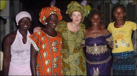 Anna Quarendon in The Gambia