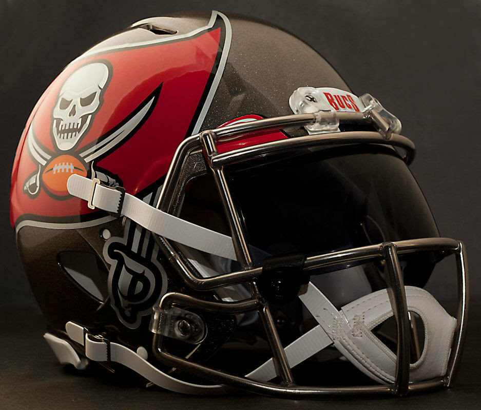 ***CUSTOM*** TAMPA BAY BUCCANEERS NFL Riddell Speed AUTHENTIC Football Helmet  eBay