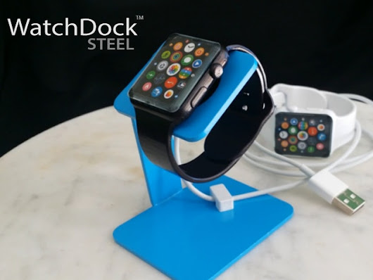 WatchDock STEEL - A Colorful Charging Dock for Apple Watch by Jim Ferguson — Kickstarter