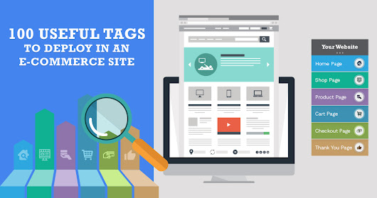 100 Useful Tags to Deploy in an E-Commerce Site | Infographic