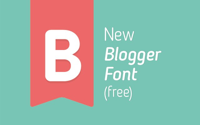 Free New Blogger Sans Font