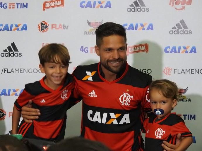 Apresentação Diego Flamengo (Foto: Fred Gomes)