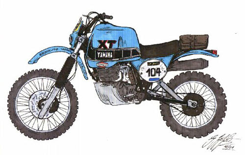 XT 550 1982