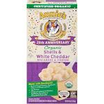 Annie's Homegrown 25th Anniversary Edition Organic Shells & White Cheddar Macaroni & Cheese 6 Oz (Pack of 12)