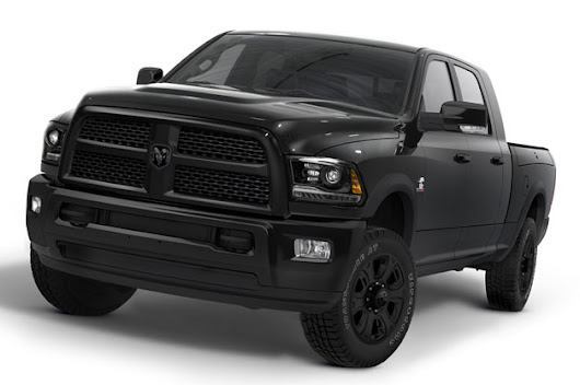 Ram extends Black Package to Heavy Duty trucks