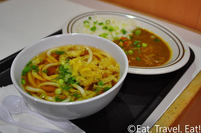 Sanukiseimen Mugimaru: Udon and Curry Rice Set