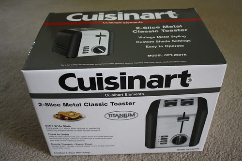 Cuisinart Elements toster box