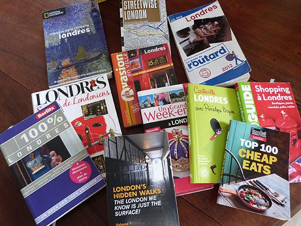 guides de Londres