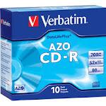 94760 - Verbatim AZO CD-R 700MB 52X DataLifePlus - 10 pack
