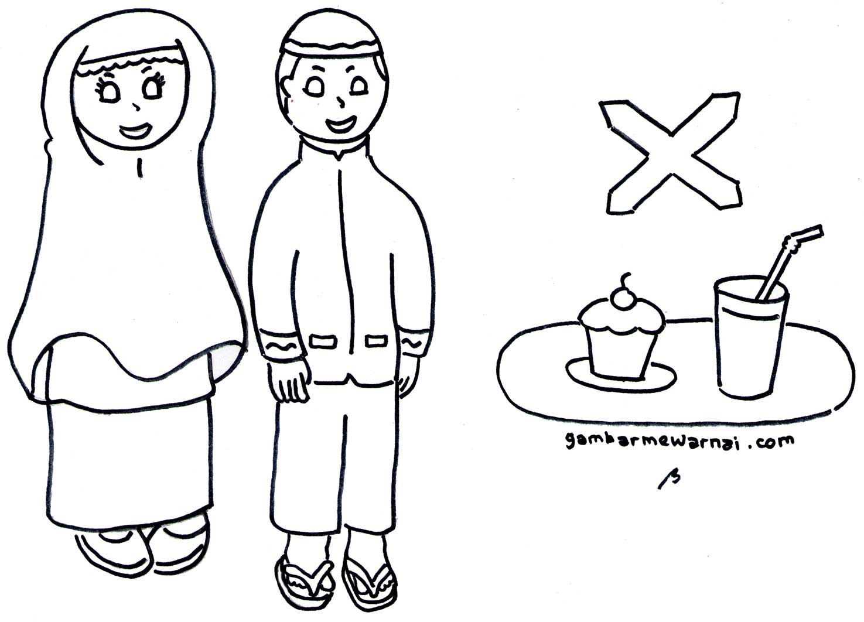 Gambar Mewarnai Anak Muslim Sholat Auto Electrical Wiring Diagram