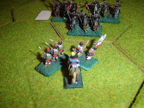 D'Erlon holds out against Prussian lancers