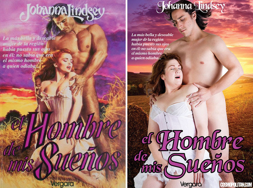 5 - 10 Pics Of Real People Hilariously Recreating Romance Novels
