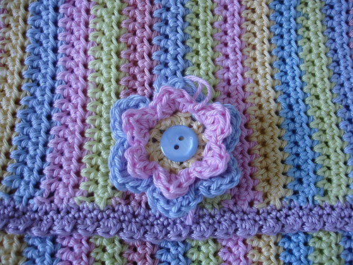 summer crochet cotton bag WIP 003